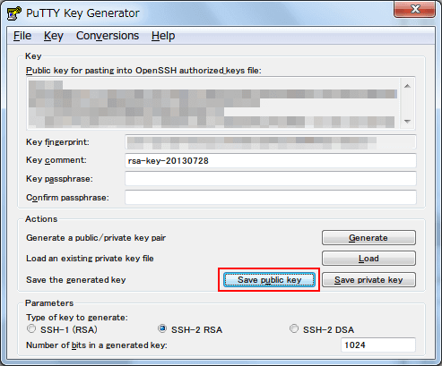 save-ssh-public-key