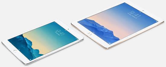 iPad Air2, mini 2