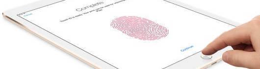 iPad mini4 touch id