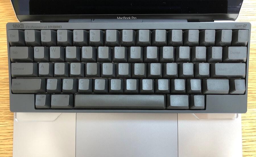 バード電子キーボードブリッジとHHKB